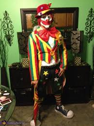 scary clown costumes clown costume