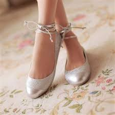 silver shoes for bridesmaids 2013 and summer fashion ballet shoes flat heel single shoes