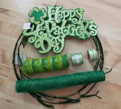 diy mesh st patrick u0027s day wreath the wreath depot