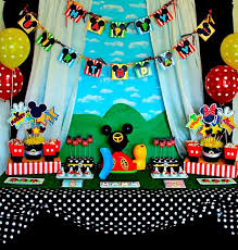 Mickey Mouse Party Theme Decorations - 134 best mickey mouse party ideas images on pinterest mickey
