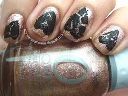 anti valentine u0027s day nail art shattered hearts of faces and