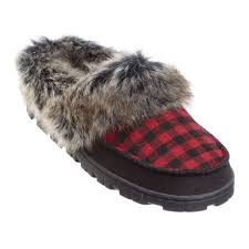womens boot slippers canada canadiana s plaid slippers walmart canada