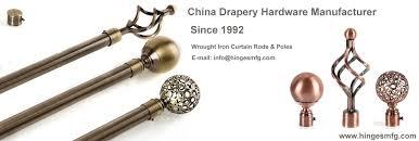 decorative drapery hardware curtain rods u0026 poles linkedin