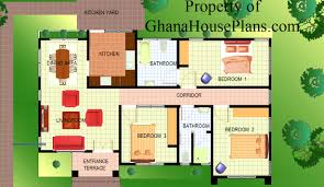 Kerala Style 3 Bedroom Single Floor House Plans Ghana 3 Bedroom House Plans On Open Floor House Plans 3 Bedroom 2 5