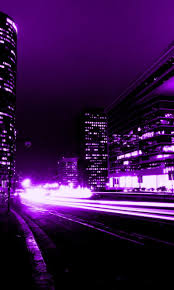light purple porsche screenheaven purple abstract city buildings lights high quality
