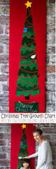 felt christmas tree growth chart a no sew project life sew savory