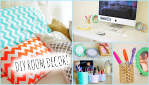 Wall Decorating Ideas For Bedrooms Diy Room Decor Ideas For Teenagers Wall Decor U0026pillows Youtube