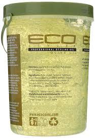 amazon com ecoco eco style gel olive oil 80 ounce hair