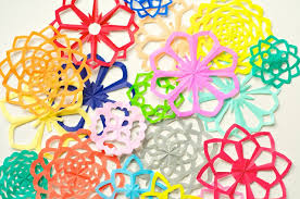 cara membuat bunga dari lipatan kertas membuat bunga sakura dengan teknik kirigami all about handycraft