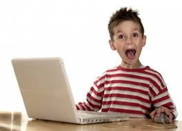 Kid On Computer Meme - excited kid computer blank template imgflip