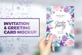 Editable Invitation Cards Free Download 20 Psd Invitation Greeting Card Mockups Webprecis