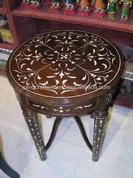 Bone Inlay Chair Indian U0026 Moroccan Style Camel Bone Inlay Coffee U0026 Console Table