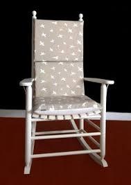 rocking chair cushion cover grey coral rocking chair cushions