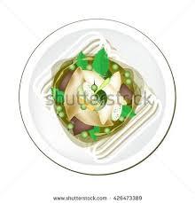 cuisine spicy cuisine spicy green curry เวกเตอร สต อก 426473389