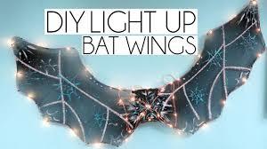 diy light up poundland bat wings craftober 3 youtube