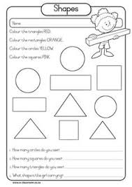 geometric shape worksheets free worksheets library download and