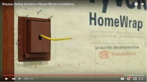 vinyl siding light mount electrical installing a exterior light in existing vinyl siding
