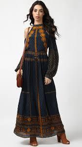 buy indian designer shraddha kapoor u0027s cold shoulder long dress online