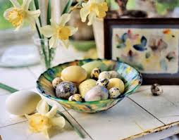 decorating with eggs all year
