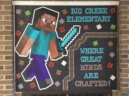 minds crafted minecraft 2015 2016 actual bulletin boards