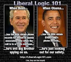 Nsa Meme - meme exposes liberal hypocrisy on nsa spying on americans