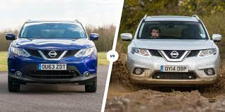 new nissan x trail finance deals nissan qashqai vs x trail u2013 style or size carwow