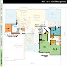 single story open floor plans uncategorized 2 bedroom single storey house plan best within