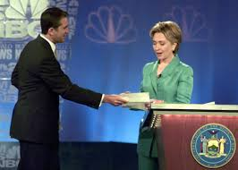 hillary clinton should hope for another rick lazio moment in her