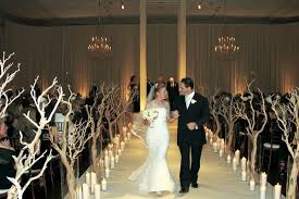 branch decor sophisticated wedding in chicago with branch succulent décor