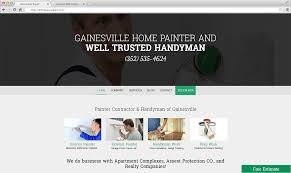 home painting web design project lucrative web designs