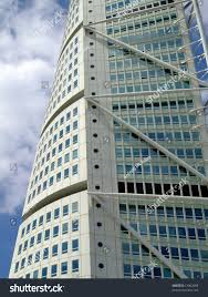 Turning Torso Floor Plan by Close View Turning Torso Twisted Tower Stock Photo 13062688