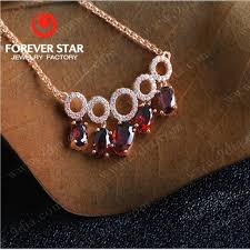 red stones gold necklace images Best selling gold plated necklace with red stone gold necklace jpg