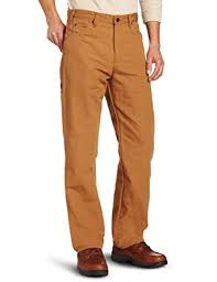 Comfortable Work Pants Dickies Men U0027s Relaxed Fit Straight Leg Duck Carpenter Jean At