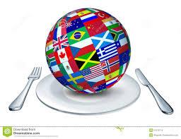 les cuisines du monde cuisine du monde illustration stock illustration du planète