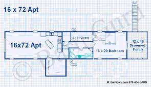 house plans with apartment barns with living quarters floor plans