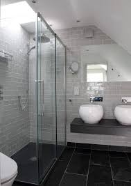 Black Slate Bathrooms 40 Grey Slate Bathroom Floor Tiles Ideas And Pictures Master