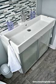 Bathroom Sinks And Cabinets by Best 25 Ikea Bathroom Sinks Ideas On Pinterest Ikea Bathroom