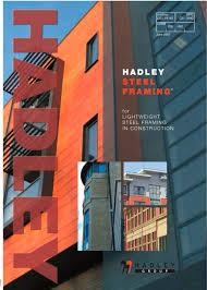 design of light gauge steel structures pdf steel framing hadley pdf catalogues documentation brochures