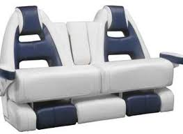 boat bench seat 2 seater with armrests mako 53 llebroc soapp