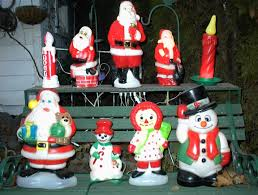 Blow Molded Christmas Yard Decorations by A Blow Mold Christmas Rollin U0027 In The Years