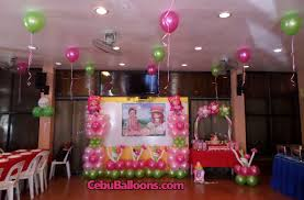 Balloon Decoration For Birthday At Home by Birthday Party Venues In Cebu Cebu Balloons And Party Supplies