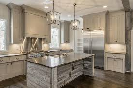 wood kitchen island reclaimed barn wood kitchen island with gray quartz countertop