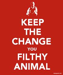 keep the change you filthy animal gushue dot dot dot