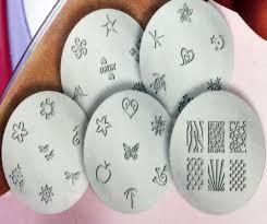 salon express nail art stamp stamping kit manicure design polish