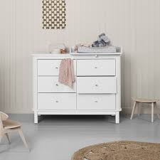 small baby changing table 6 drawer birch dresser with small baby changing top white oliver