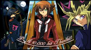 yu gi oh main protagonists wallpaper v2 by kaitouyahiko on