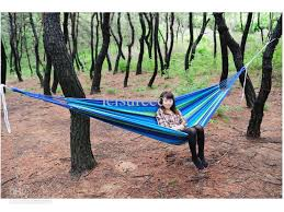 2017 portable hammock bed 200 100cm thicken canvas with bags