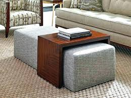 Coffee Table With Ottoman Seating Square Coffee Table Ottoman Mattsheedy
