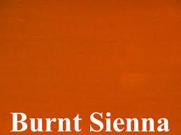 Warm Orange Color Burnt Sienna Is An Iron Oxide Pigment A Warm Mid Brown Colour