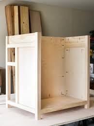building a dishwasher cabinet diy kitchen island building with seating ideas pinterest countertop